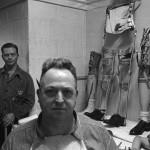 Fotoreportage von Stanley Kubrick über das Walter Reed Hospital, Washington, (Abteilung für Prothetik). Veröffentlicht in Look, 3. Februar 1952